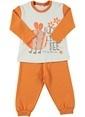 Zeyland Pijama Takım Oranj